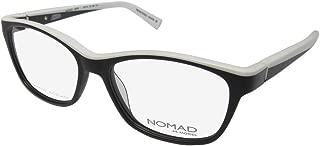 Nomad By Morel 2379n Womens/Ladies Cat Eye Flexible Hinges Designed In France Eyeglasses/Eyeglass Frame
