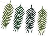cama24com Palmenblätter Girlande Hawaii-Beach-Hula-Tiki-Party-Deko Tischdeko mit 9 Blättern Safari mit Palandi® Sticker - 2