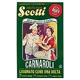 Riso Scotti - Riso Carnaroli 160 Anni Verde - Riso per Risotti Lavorato a Pietra - 850 gr