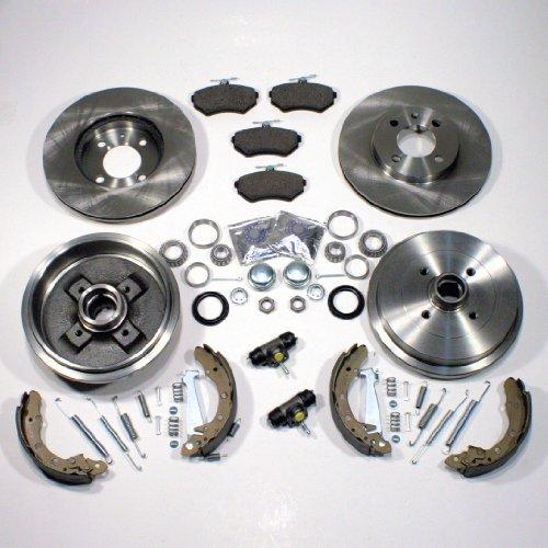 Bremsscheiben belüftet/Bremsen Set vorne + Bremstrommel Set für hinten