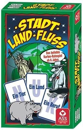 Ass Altenburger Spielkarten 9679 Stadt, Land, Fluss