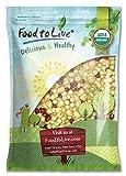 Organic Crunchy Mix of Sprouting Beans, 5 Pounds - Non-GMO, Kosher, Non-Irradiated, Vegan, Raw, Dried, Bulk - Organic Green Peas, Organic Adzuki, Organic Lentil, Organic Garbanzo