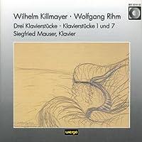 Killmayer:3 Piano Pieces