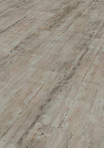 1 Paket (1,88 m²) PVC Bodenbelag / Vinylboden zum Klicken / HDF Klick - Larix astig