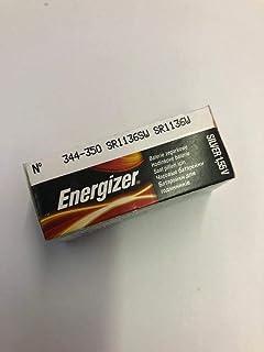 ENERGIZER Blister de 10 Pile montres Oxyde d'Argent 344/350 SR1136SW SR42