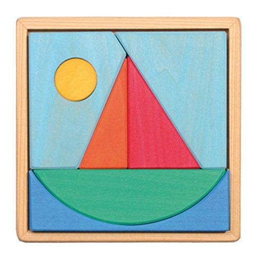 Legespiel Segelschiff