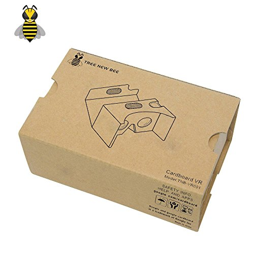 Buy Tree New Bee TNB-VR001 2016 Cardboard VR V3 Virtual Reality DIY 3D Glasses for Smartphone