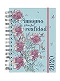Finocam - Agenda 2020 1 día página Espiral You Imagina español, Sobremesa - E10-155x212 mm
