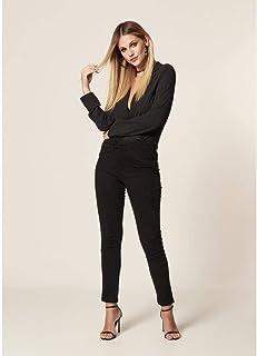 Calça Skinny Premium Com Entrelaço