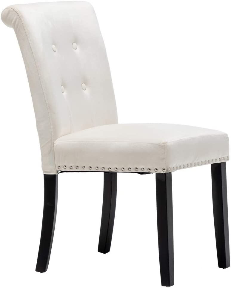 Firlar New Free Shipping Set of 2 Velvet Chair Chairs Dining Tufted Parson Our shop most popular