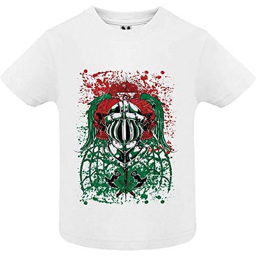 LookMyKase T-Shirt - Endless War - Bébé Garçon - Blanc - 12mois