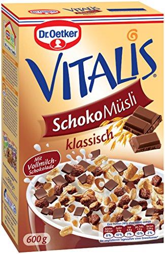Dr. Oetker Vitalis cioccolato Muesli Classic 600g [Misc.]