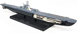 Military Submarine Model, 1/350 Scale German U-Shaped Submarine Model, Adult Collectibles And Gifts, 9.4Inch