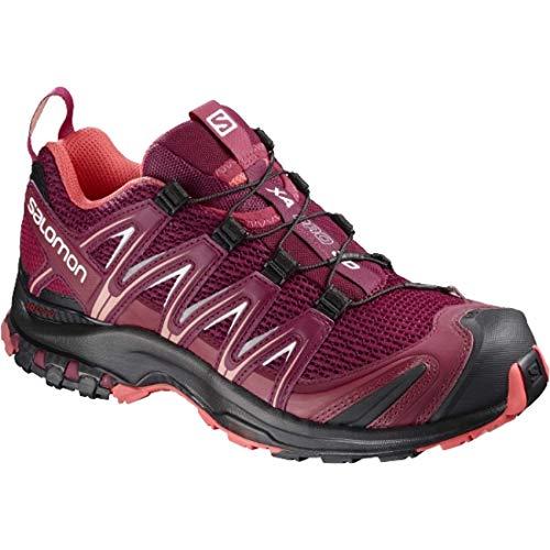 Salomon Femme XA Pro 3D W, Chaussures de Trail Running, Rouge (Beet RedCeriseBlack), EU 40