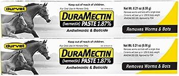 Duramectin Ivermectin Paste 1.87% Horse Wormer  2 Tubes