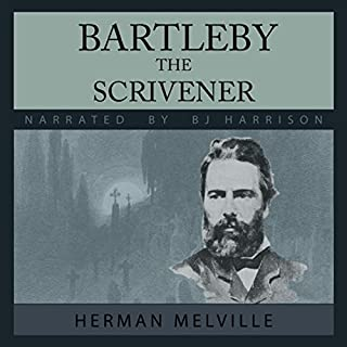 Bartleby, the Scrivener audiobook cover art
