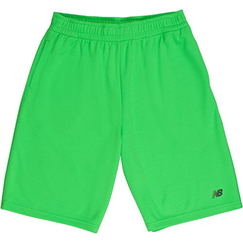 New Balance Big Boys' Solid Athletic Short, Thunder, 14/16