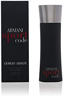 Giorgio Armani Code Sport for Men Eau De Toilette Spray, 2.5 Ounce