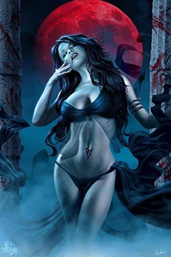 Blood Lust Tom Wood Fantasy Art Cool Wall Decor Art Print Poster 24x36