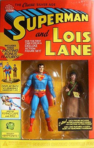 DC Comics Superman/Lois Lane Classic Silver Age Figure Set