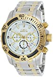 Invicta Men's Pro Diver Quartz Watch with Stainless-Steel Strap, Two Tone, 18.5 (Model: 24859)