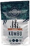VITAMINSEA Organic Raw Kombu Flakes - 2 OZ -...