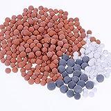 Nabance 9 Paquets Pommeau Douche Anti Calcaire Ions Négatifs Mineraux Balles Replacement Filtre Minérale Balles