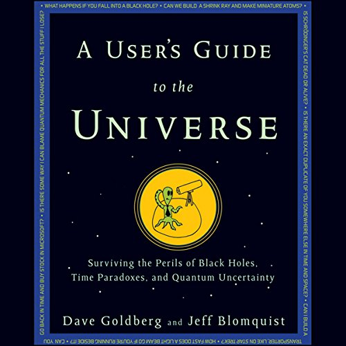 A User's Guide to the Universe audiobook cover art