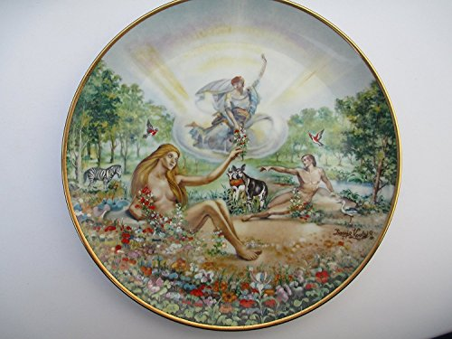 The Creation Series 1978 Plate From Royal Cornwall By Yiannis Koutsis Adam