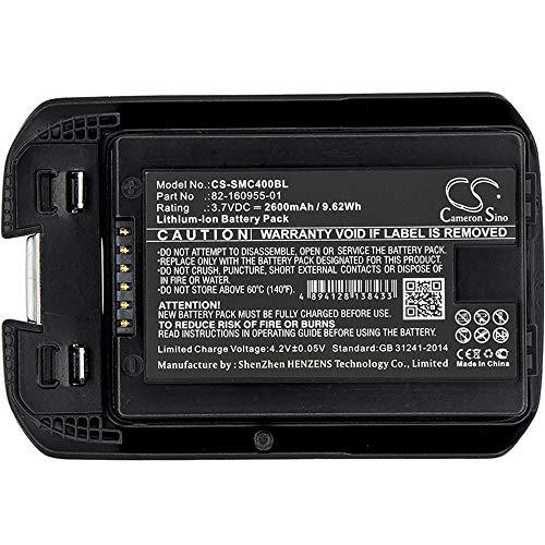 Batterie de scanner de code à barres 2600mAh / 9.62Wh 3.7V La batterie de scanner de codes à barres Li-ion compatible avec le symbole convient aux piles rechargeables du modèle MC40 / MC40C / MC40N0 B