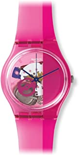 Swatch Women's GP145 Pinkorama Year-Round Analog Quartz Pink Watch