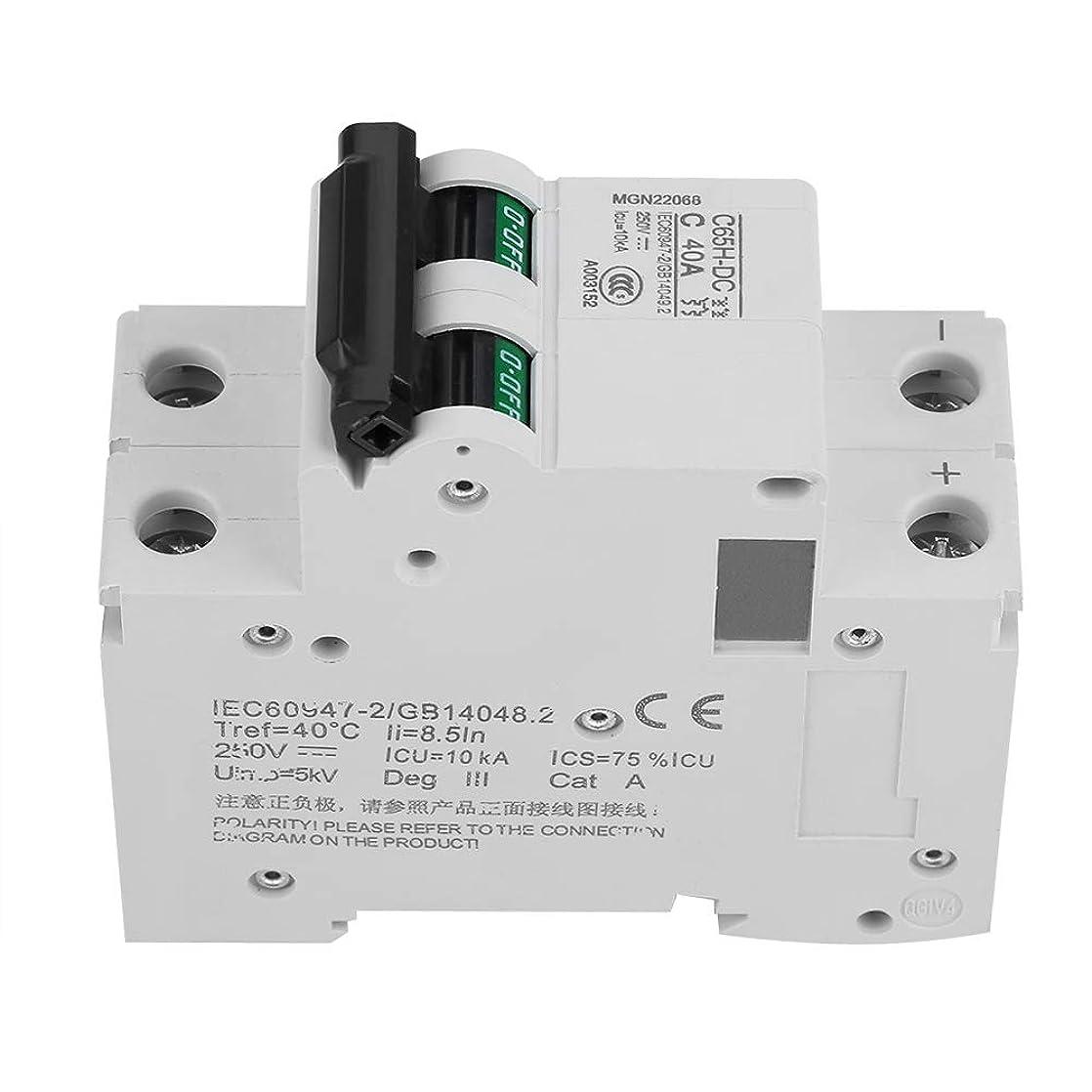 実質的に切断する先入観2P 40A 250V低電圧DCミニチュアサーキットブレーカ