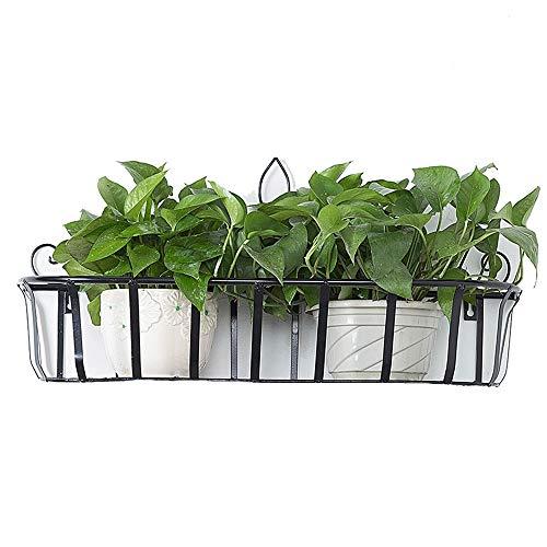 JKXWX Potted Plant Stand, Indoor Iron Flowerpot Holder, Hangleuning bloem stand, Balkon bloem stand muur plank