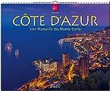 Côte d'Azur • Von Marseille bis Monte Carlo: Original Stürtz-Kalender 2020 - Großformat-Kalender 60 x 48 cm