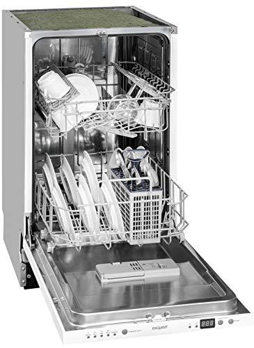 Exquisit EGSP 309-7 E vollintegrierter Geschirrspüler - 45 cm, A++