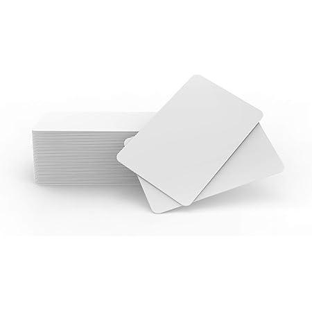 Cartes D'identification Imprimables par Jet d'encre de PVC de Compatible avec Les Imprimantes à Jet d'encre D'Epson Et De Canon (40pcs) –TimesKey