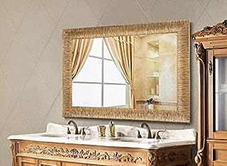 Best bathroom mirrors gold Reviews