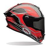Bell Street 2017 Race Star Full Face Motorcycle Helmet - Triton Red XL