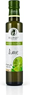 Ariston Lime Infused Extra Virgin Gourmet Olive Oil (Product of Greece) 250 ml