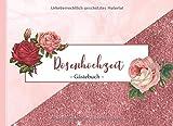 Rosenhochzeit: Gästebuch I Glückwünsche & Erinnerungen