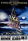 axxis2002Pster de concierto2002Tour PsterConcertkamelot