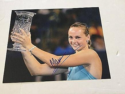 Magdalena Rybarikova Hand Signed 8x10 Picturegraph Signed