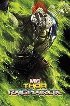 1art1 Thor Poster - Ragnarok, Hulk (36 x 24 inches)
