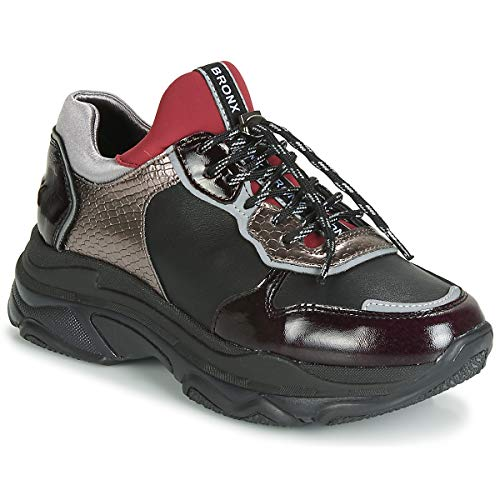BRONX BAISLEY Sneakers femmes Bordeau/Zwart Lage sneakers