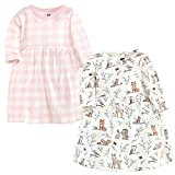 Hudson Baby Girl's Cotton Dresses, Enchanted Forest, 2 Toddler