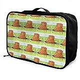 Qurbet Sacs de Voyage,Sac à Main, Travel Lightweight Waterproof Foldable Storage Carry Luggage Duffle Tote Bag - Science Teacher
