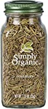 Simply Organic Rosemary Leaf, Whole | Certified Organic | Kosher Certified | 1.23-Ounce Glass Bottle
