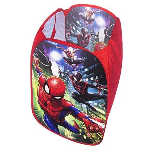 l.e.i. Marvel Spiderman Panier à Linge Pop-up