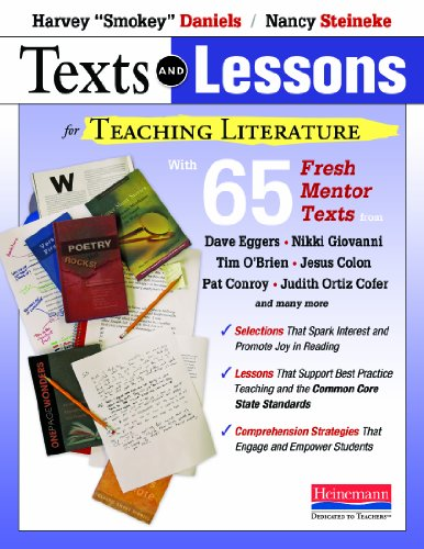Texts and Lessons for Teaching Literature: with 65 fresh mentor texts from Dave Eggers, Nikki Giovan