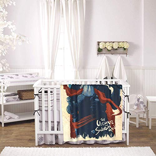 The Ultimate Swordsman Ultra-Soft Baby Blankets Lightweight, Soft, Plush, Fluffy, Warm and Comfortable, Versatile Baby Blanket